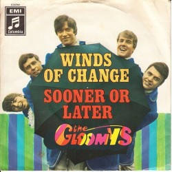 Gloomys ‎The – Winds Of Change / Sooner Or Later|1968 Columbia ‎– C 23 763-Single