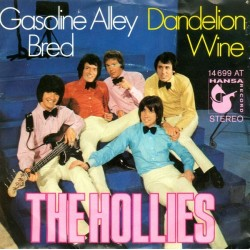 Hollies ‎The – Gasoline Alley Bred / Dandelion Wine|1970 Hansa Record ‎– 14 699 AT-Single