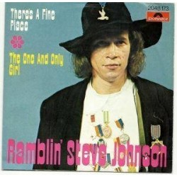 Johnson Ramblin' Steve -There's a fine place|1975 Polydor 2048 173-Single