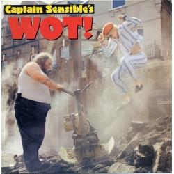 Captain Sensible – Wot!|1982 A&M Records – AMS 9228-Single