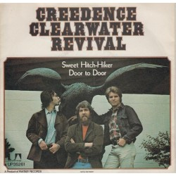 Creedence Clearwater Revival ‎– Sweet Hitch-Hiker / Door to Door|1971 United Artists Records ‎– UP 35261-Single