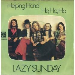 Lazy Sunday – Helping Hand|Columbia – 2 E 006-33 125-Single