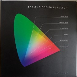 Various ‎– The Audiophile Spectrum|2009    Quinton Records ‎– Q-9986