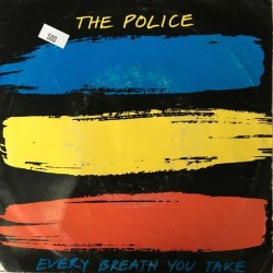 Police ‎The ‎– Every Breath You Take |1983 A&M Records ‎– AMS 9287-Single