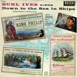 Ives Burl With Ralph Hunter Singers ‎– Sings Down To The Sea In Ships|1956 Teldec 6.22118
