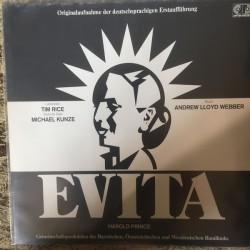 Webber Andrew Lloyd- Tim Rice – Evita-  Deutschsprachigen Erstaufführung|1982   6.25307