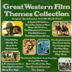 Various ‎– Great Western Film Themes Collection 29719/20 XC 2 LP