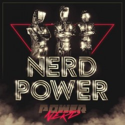 Powernerd ‎– Nerd Power|2017  Wave 003- Ultraclear with Golden Splatters
