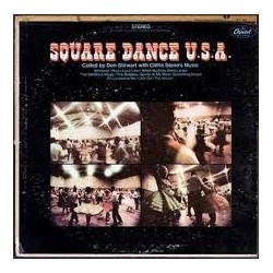 Stewar Don with Cliffie Stone's Square Dance Orchestra ‎– Square Dance U.S.A| Capitol Records ‎– SM 112