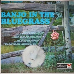 Various ‎– Banjo In The Bluegrass|Diplomat Records ‎– 2601 USA