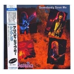 Cinderella – Somebody Save Me|1987   Mercury ‎– 15PP-64 Japan  ohne Obi!!