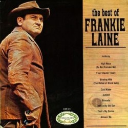 Laine Frankie ‎– The Best Of Frankie Laine |1967 Hallmark Records ‎– SHM 515