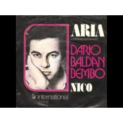 Bembo ‎Dario Baldan – Aria|1975     Hansa International ‎– 16 016 AT-Single