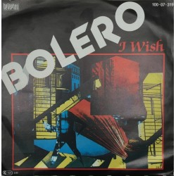 Bolero – I Wish|1985 Bellaphon – 100·07·319-Single