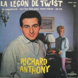 Anthony Richard ‎– Leçon De Twist|1962    Columbia ‎– ESRF 1349-Single