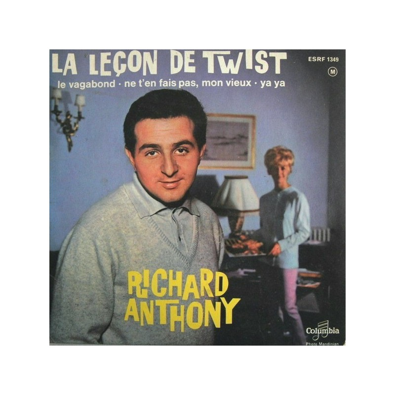 Anthony Richard – Leçon De Twist|1962    Columbia – ESRF 1349-Single