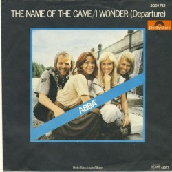 ABBA – The Name Of The Game 1977     Polydor – 2001 742-Single