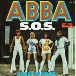 ABBA – S.O.S. 1975     Polydor – 2001 585-Single