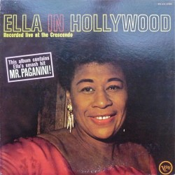 Fitzgerald ‎Ella – Ella In Hollywood|1979    Verve Records ‎– MVS 2636-Japan Press