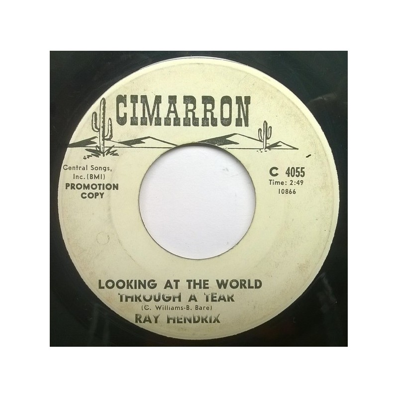 Hendrix ‎Ray – Looking at the world through a tear/Smile of a clown|Cimarron ‎– C 4055-Promo-Single