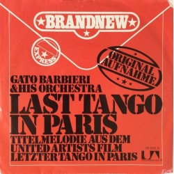 Barbieri Gato ‎– Last Tango In Paris|1973    United Artists Records ‎– UP 35505 -Single