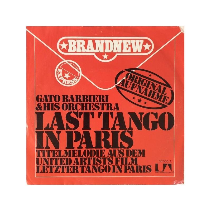 Barbieri Gato – Last Tango In Paris|1973    United Artists Records – UP 35505 -Single