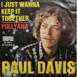 Davis Paul – I just wanna keep it together|1970 Bellaphon – BF 18017-Single