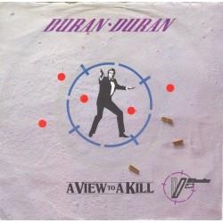 Duran Duran – A View To A Kill 1985    Parlophone – 1A 006 2006307-Single