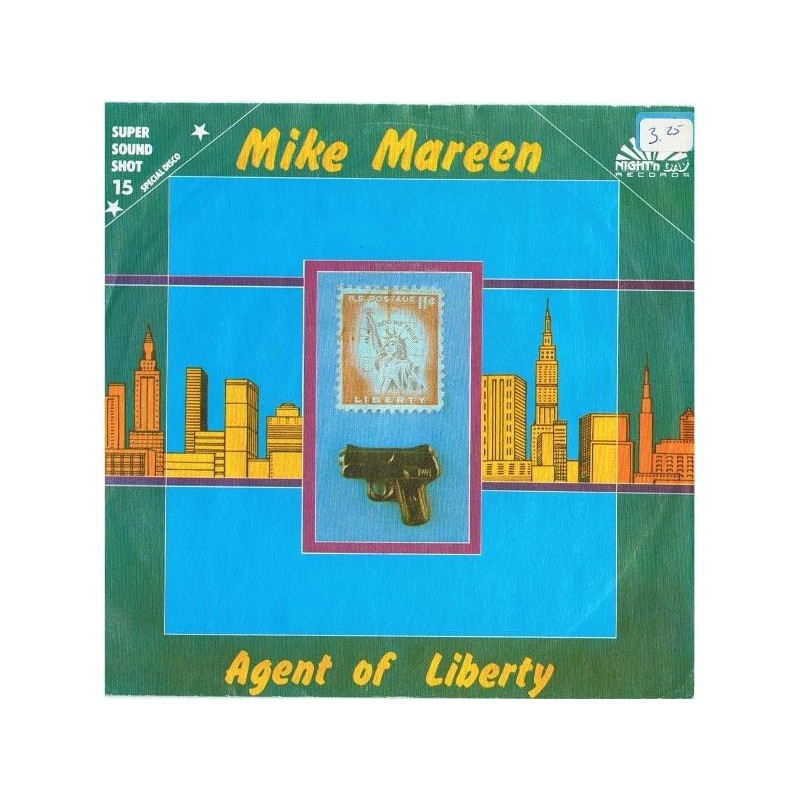 Mareen Mike – Agent Of Liberty|1986 ZYX Records – 1264-Single