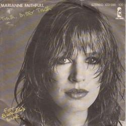 Faithfull Marianne – Truth, Bitter Truth|1981     Island Records – 103 598-Single
