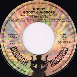 1910 Fruitgum Company – Goody Goody Gumdrops 1968     Buddah Records – 201 025-Single
