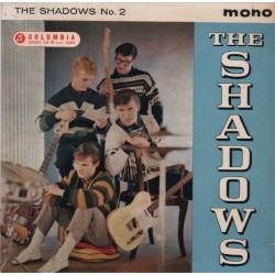 Shadows ‎The– The Shadows No. 2|1961    Columbia ‎– SEG 8148-Single-EP