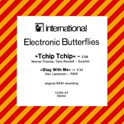 Electronic Butterflies ‎– Tchip Tchip|Hansa International ‎– 13 233 AT-Single