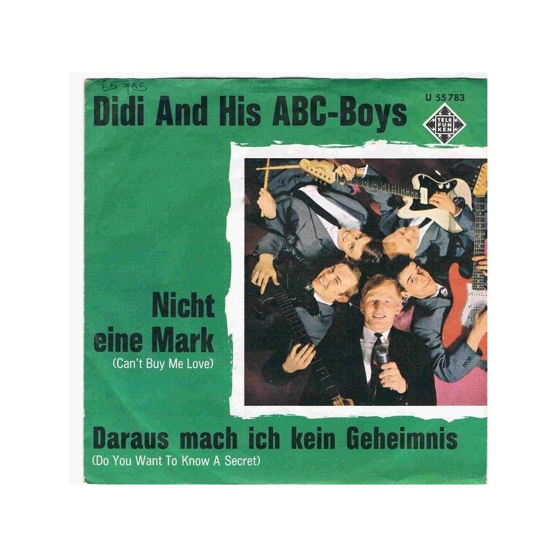 Didi and his ABC-Boys – Nicht Eine Mark|1964    Telefunken – U 55 783-Single