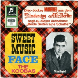 Koobas ‎The – Sweet Music / Face|1966     	Columbia C 23 299-Single