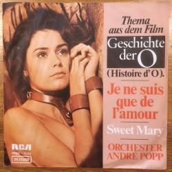 Popp André – Je Ne Suis Que De L'Amour/Sweet Mary|1975   RCA – 26.11358-Single