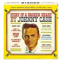 Various Artists– Story Of A Broken Heart by Johnny Cash|1963 DLP-610
