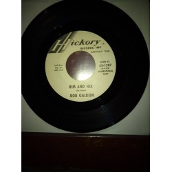 Gallion ‎Bob – Him And Her/Two Out Of Three|1963 Hickory ‎– 45-1207-Single
