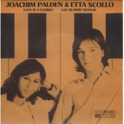 Palden Joachim & Etta Scollo – Love Is A Gamble|1982 Columbia – 12C 006-33 294-Single