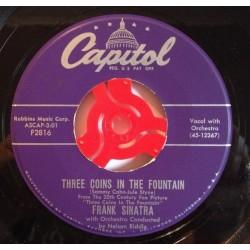 Sinatra Frank – Three Coins In The Fountain|Capitol Records – F2816-Single