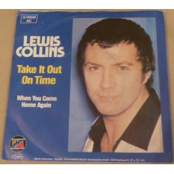Collins Lewis – Take It Out On Time|1982 Ultraphone – 6.13 638-Single