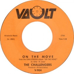 Challengers The – On The Move / Foot Tapper|1963 Vault – V-904-Single
