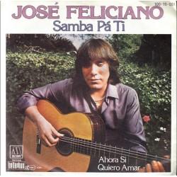 Feliciano José – Samba Pá Ti|1982 Motown 100·15·051-Single