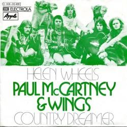 McCartney Paul & Wings – Helen Wheels / Country Dreamer|1973 EMI Electrola – 1C 006-05 486-Single