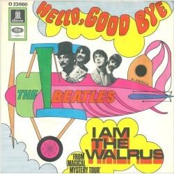 Beatles The – Hello, Good Bye / I am the Walrus|1967 Odeon – O 23 660-Single