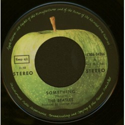 Beatles The – Something / Come together|1969 Apple Records – 1C 006-04 266-Single