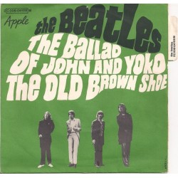 Beatles The – The Ballad Of John And Yoko / The Old Brown Shoe|1969 Apple Records – 2C 006 04108 M-Single