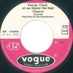 Clark Petula – Cheerio (Chariot)|1963 Vogue Schallplatten – DV. 14 046-Single