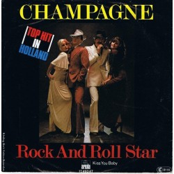 Champagne – Rock And Roll Star|1976 Ariola – 17 493 AT-Single