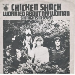 Chicken Shack – Worried About My Woman|1968 Blue Horizon – 57-3143-Single